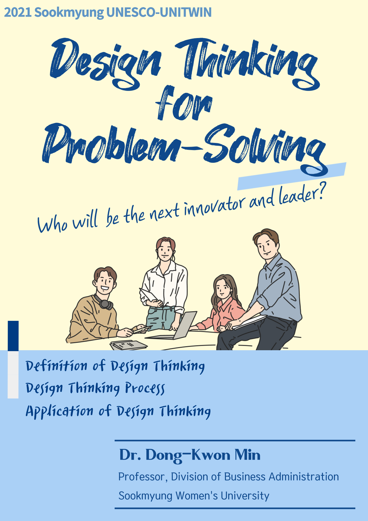 Leadership Lecture. Design Thinking for Problem-Solving.png